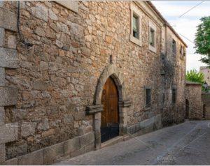 Old Street of Trujillo Caceres Extremadura