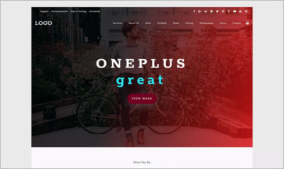Oneplus WordPress Theme - Free Download