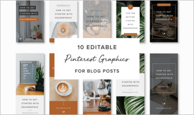 Pinterest Graphics for Blog Posts