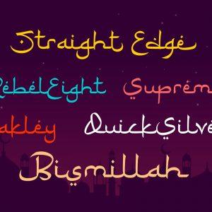 Ramadhan Karim - Arabic Fonts