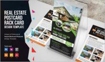 Real Estate Postcard And Rackcard