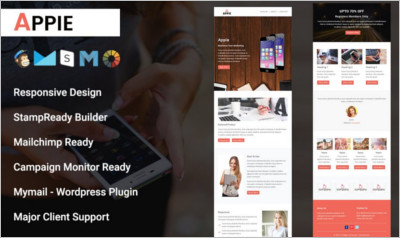 Apple-Responsive Email Template
