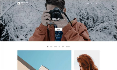 Shutter Up WordPress Theme - Free Download