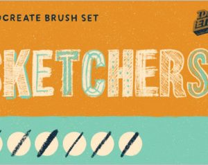 Sketchers Procreate Brush Set