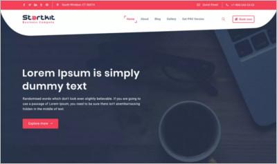 StartKit WordPress Theme - Free Download