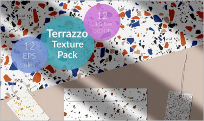 Terrazzo Tile Textures