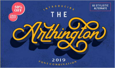 The Arthington - Bonus font