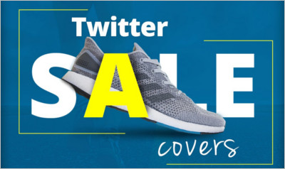 Twitter Sale Cover PSD
