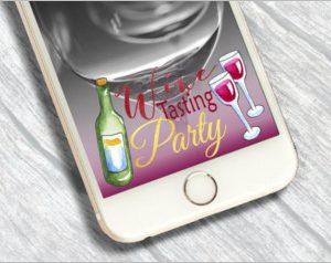 Wine Tasting Party Snapchat
