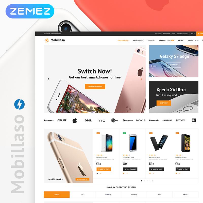 Mobile Store Magento 2 Theme