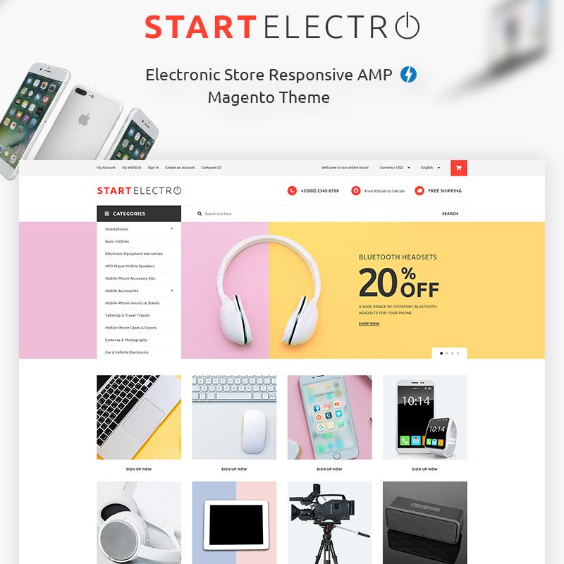 StartElectro - Electronics Store Magento Theme
