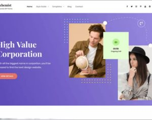 Alchemist WordPress Theme