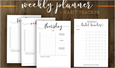 Basic Everyday Planner