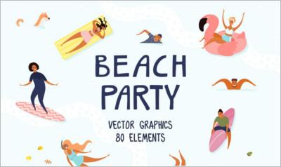 Beach Party Summer
