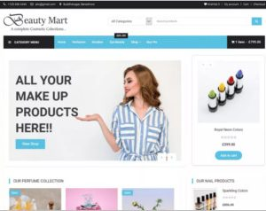 Beauty Mart WordPress Theme
