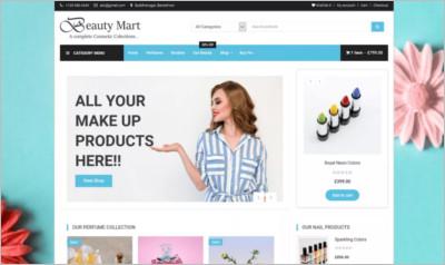 Beauty Mart WordPress Theme - Free Download