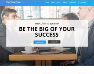 Business Elentra WordPress Theme