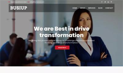 Busiup WordPress Theme - Free Download