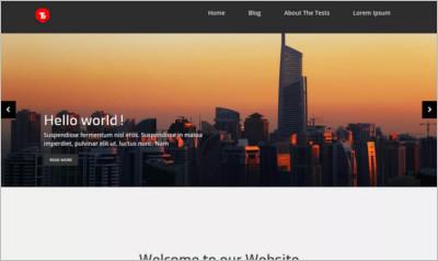 Corporate zing WordPress Theme - Free Download