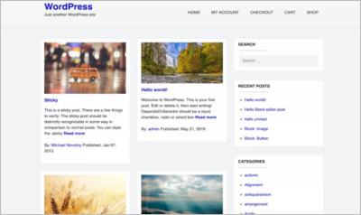 Dart Blog WordPress Theme - Free Download