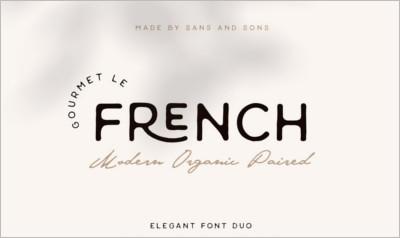 French Modern Elegant