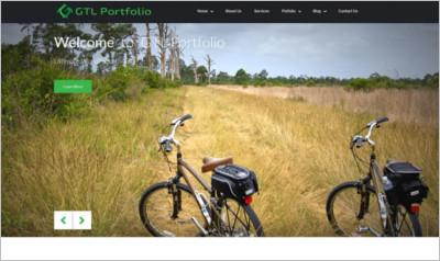 GTL Portfolio WordPress Theme - Free Download