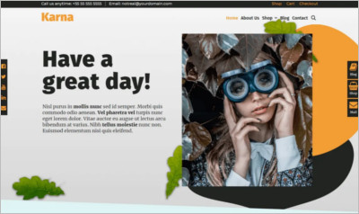 Karna WordPress Theme - Free Download