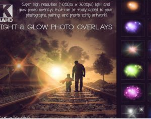 Lights and Glow Overlays