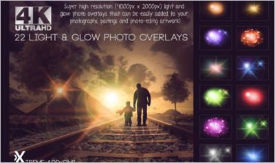 Lights and Glow Overlays