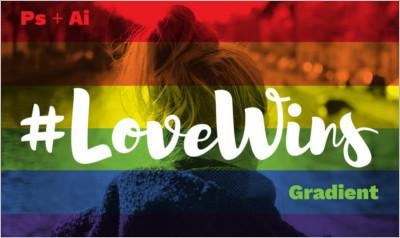 Love Wins Gradients