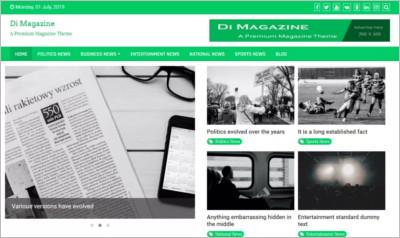 Magazine News Plus WordPress Theme - Free Download