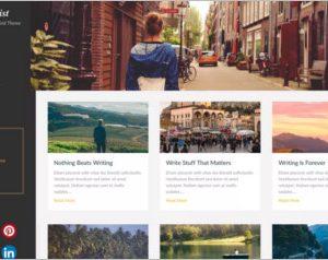 Masonry Hub WordPress Theme