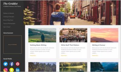 Masonry Hub WordPress Theme - Free Download