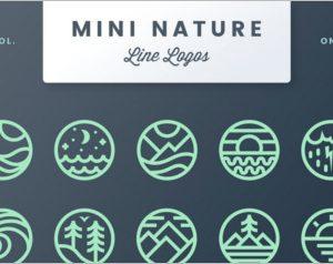 Mini Nature Line Logos