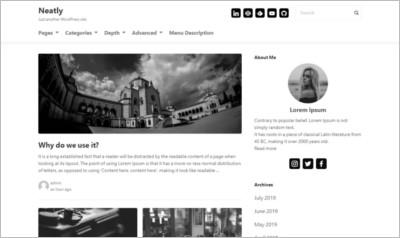 Neatly Wordpress Theme - Free Download