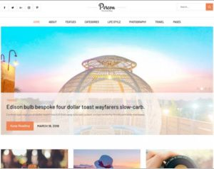 Percon WordPress Theme