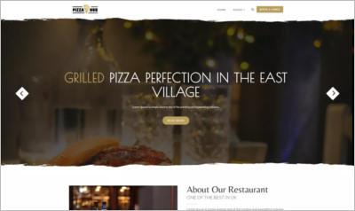 Pizza Hub WordPress Theme - Free Download
