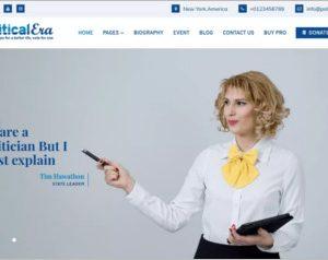 Political Era WordPress Theme