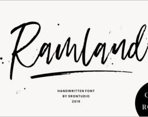 Ramland Rough Script