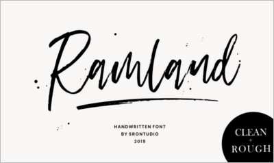 Ramland Rough Script - Free Download