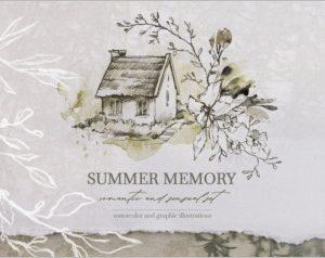 SUMMER MEMORY Watercolor set
