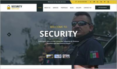 Secure WordPress Theme - Free Download