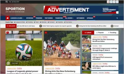 Sportion WordPress Theme - Free Download
