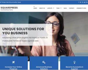 SquarePress WordPress Theme