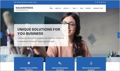 SquarePress WordPress Theme