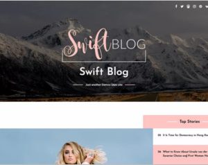 Swift Blog WordPress Theme