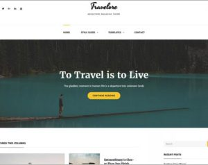 Travelore WordPress Theme