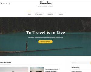 Travelore WordPress Theme