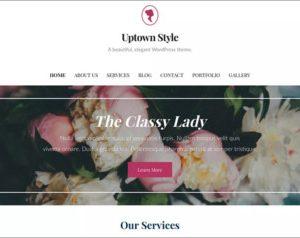 Uptown Style WordPress Theme