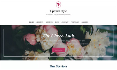 Uptown Style WordPress Theme - Free Download
